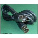 Kabel wtyk DIN 5p - DIN 5pin długość 1,5m (0422a)