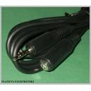 Przedłużacz jack 3,5mm 4PIN polowy 2m kabel(1386a)
