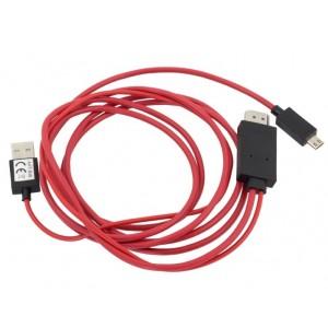 ADAPTER MHL - micro USB, USB, HDMI