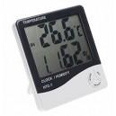 TERMOMETR LCD Stacja Pogody zegar wilgotność(4140)