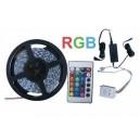 Taśma Sznur Listwa 270 LED RGB 5m 3528 pilot(2922a