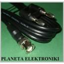 Kabel pomiarowy wtyk BNC / 2x wtyk gn BANAN