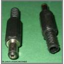 Złącze wtyk DC 2,1 / 5,5 / 9,5mm KPL 10sztuk