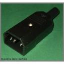 Złącze wtyk komputerowy AC 3pin na kabel
