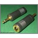 Przejście adapter gn jack 6,3 /wt 3,5 st GOLD