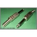 Wtyk jack 6,3 mono metal na kabel FV