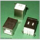 GNIAZDO USB typ B pionowe do druku