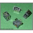 Gniazdo USB mini 4pin montaż SMD
