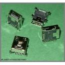 Gniazdo USB mini 5pin montaż SMD