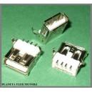 Gniazdo USB typ A druk SMD