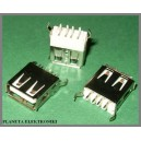 Gniazdo USB typ A do druku pionowe