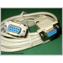 Kabel gn RS232 - gn RS 232 9pin D-SUB 3m
