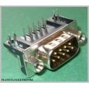 Wtyk złącze RS232 D-SUB 9pin do druku