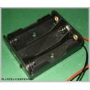 Koszyk uchwyt na baterie AA 3x R6