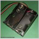 POJEMNIK koszyk uchwyt na baterie R14 2xR14