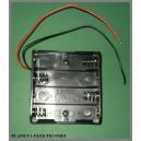 Koszyk uchwyt pojemnik na baterie AA 4x R6