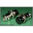 Wtyk mikrofonowy CB 4 pin 4p na kabel