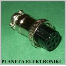 WTYK mikrofonowy CB 7 pin 7p gruszki radia CB