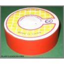 Taśma izolacyjna PVC czerwona 10m szer.19mm