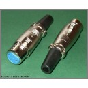 Gniazdo mikrofonowe XLR canon 3pin na kabel