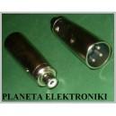 Adapter gniazdo RCA cinch / wtyk XLR 3pin(1347)