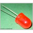 Dioda diody LED 10mm CZERWONA Komplet 10szt