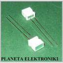 Dioda LED 3x5mm PROSTOKĄTNA zielona 50szt