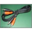 Kabel 2x RCA ( cinch ) - 2xRCA 7,5m