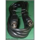 Kabel wtyk SVHS 4p / wtyk S-VIDEO 4pin 7,5m
