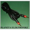Kabel wtyk Jack 3,5 stereo - wt 3,5st 1,5m Campari (1820)