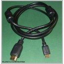 Kabel HDMI - mini HDMI 1,5m FILTRY FULL HD