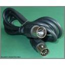 2,5m Kabel wtyk DIN 5p - wt DIN 5pin