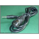 Kabel DIN 5p - mały Jack 3,5 stereo 1m