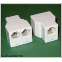 Adapter 6p6c RJ12 1gn/2gn